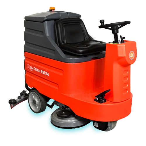 Fast Clean Cobra RSC34 Auto Riding Industrial Floor Scrubber