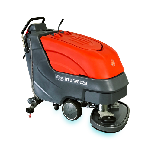 Fast Clean GTO WSC26 Dual Brush Walk Behind Automatic Scrubber